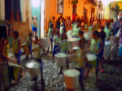 Salvador De Bahia Brasil 2006 World Cup Art Print