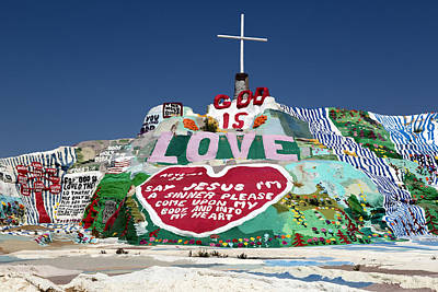 Photograph - Salvation Mountain In Callpatria by Carol M Highsmith