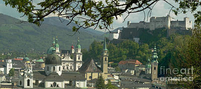 Photograph - Salzburg Panorama 4 by Rudi Prott