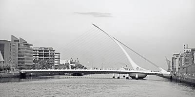 Samuel Beckett Bridge Dublin Ireland Art Print