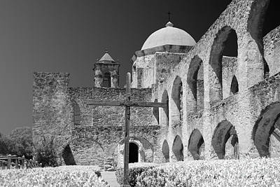 Protection Photograph - San Antonio - Mission San Jose by Christine Till