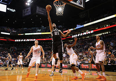 Photograph - San Antonio Spurs V Phoenix Suns by Christian Petersen