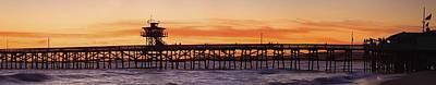 Clemente Photograph - San Clemente Municipal Pier In Sunset by Richard Cummins