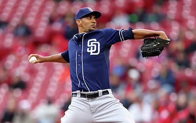 Photograph - San Diego Padres V Cincinnati Reds - by Andy Lyons