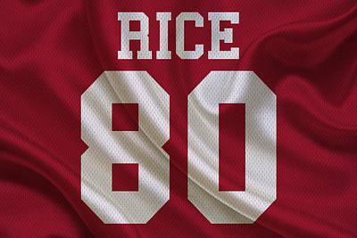 Jerry Photograph - San Francisco 49ers Jerry Rice by Joe Hamilton
