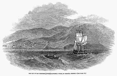 Destiny Painting - San Francisco Bay, 1849 by Granger