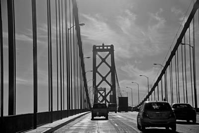 Photograph - San Francisco Bay Bridge by Eric Tressler