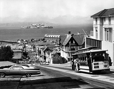 Photograph - San Francisco Cable Car by Underwood Archives