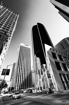 Old Masters Royalty Free Images - San Francisco City Downtown Royalty-Free Image by Alexander Fedin