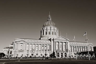 Photograph - San Francisco City Hall by Songquan Deng