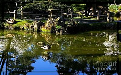 San Francisco Golden Gate Park Japanese Tea Garden 10 Art Print by Robert Santuci
