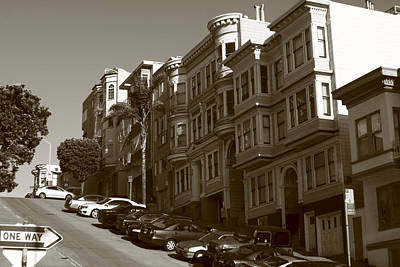 Photograph - San Francisco Hills  by Aidan Moran