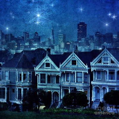 Photograph - San Francisco Night by Jill Battaglia
