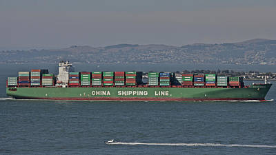 San Francisco Shipping Art Print