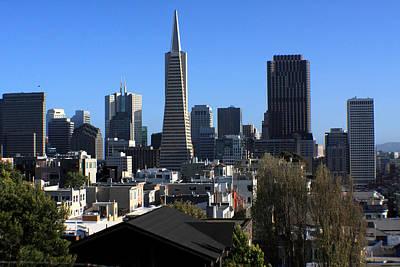 Photograph - San Francisco Skyline by Aidan Moran
