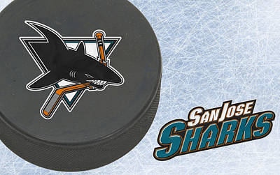 Hockey Photograph - San Jose Sharks by Joe Hamilton