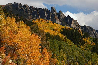 Aspen Photograph - San Juan Mountains In Autumn by Jetson Nguyen