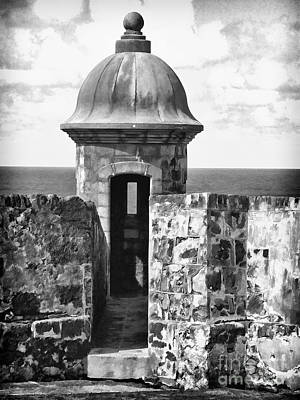 San Juan Sentry Post Art Print by George Oze