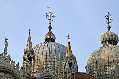 San Marco Basilica Art Print by Sami Sarkis