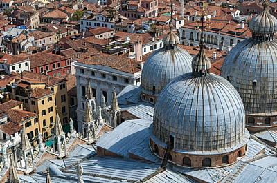 San Marco Basilica. Venice. Art Print