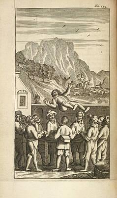 Sancho Panza Art Print by British Library