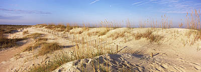 Anastasia Photograph - Sand Dunes On The Beach, Anastasia by Panoramic Images