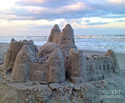 Photograph - Sandcastle Dreams by Enid Gough