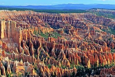 Red Sandstone Photograph - Sandstone Hoodoos by Bildagentur-online/mcphoto-schulz