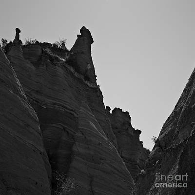 Photograph - Sandstone Peaks Sq by David Gordon