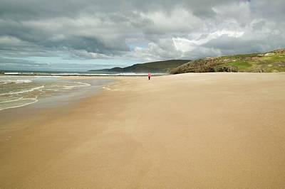 Sandwood Bay In Sutherland Art Print