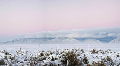 64 Photograph - Sangre De Cristo Range With Clouds by Panoramic Images