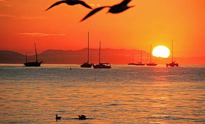 Photograph - Santa Barbara Sunrise by Sheila Kay McIntyre
