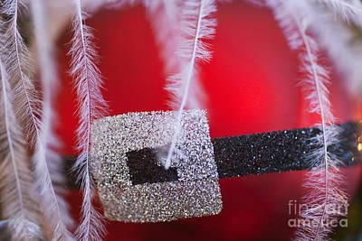 Santa Claus Ornament Art Print by Birgit Tyrrell