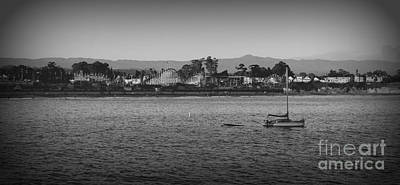 Photograph - Santa Cruz Boardwalk by Garnett  Jaeger