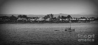 Photograph - Santa Cruz Boardwalk by Garnett  Jaeger