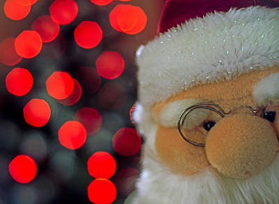 Photograph - Santa by Spikey Mouse Photography