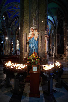 Jouko Lehto Royalty-Free and Rights-Managed Images - Santa Maria sopra Minerva by Jouko Lehto