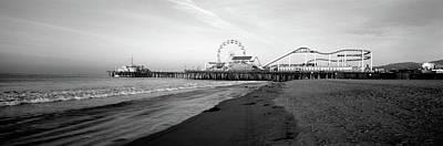 Santa Monica Pier, California, Usa Art Print