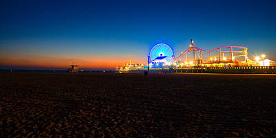 Photograph - Santa Monica Pier by Celso Diniz