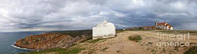 Cliff Photograph - Santuary In Cape Edge by Jose Elias - Sofia Pereira