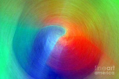 Photograph - Sapphire Light - Ruby Refraction by Douglas Taylor
