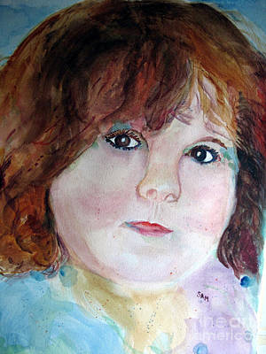 Painting - Sarah by Sandy McIntire