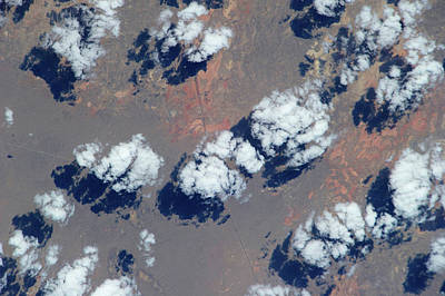 Satellite Views Photograph - Satellite View Of Clouds by Panoramic Images