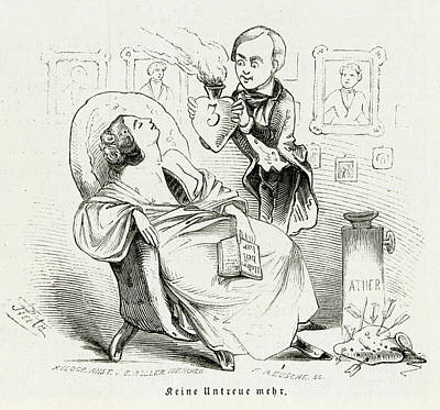 Satireresults Of Ether - Surgery Art Print by Mary Evans Picture Library
