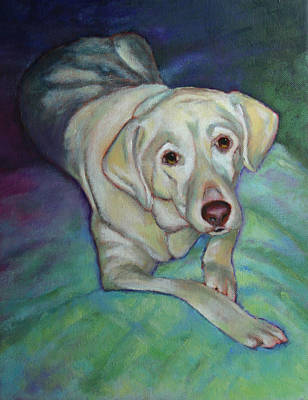 Painting - Savannah The Dog by Carol Jo Smidt