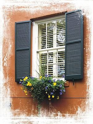 Photograph - Savannah Window Box by Joe Duket