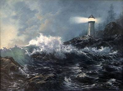 Painting - Savior by Lynne Wright