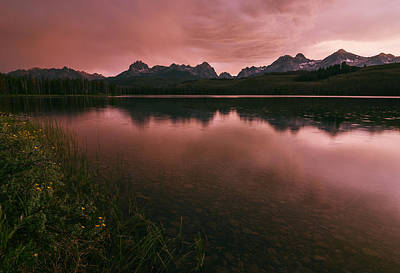 Photograph - Sawtooth Sunset by Vishwanath Bhat