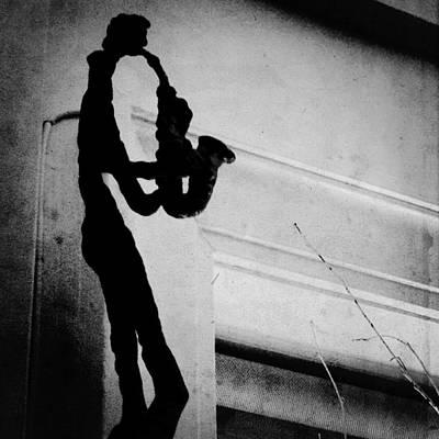 Jazz Digital Art - Saxophone by Natasha Marco