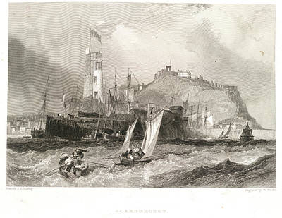 Scarborough Art Print by British Library